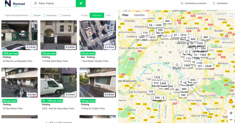 Startup <h3>Parking Nomad</h3> France French Tech