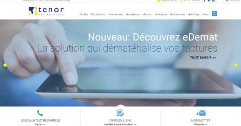 Startup <h3>Tenor EDI Services </h3> France French Tech