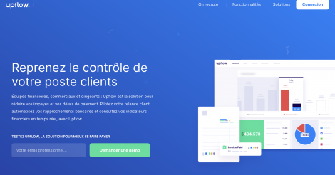 Startup <h3>Upflow</h3> France French Tech