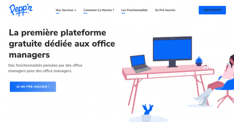 Startup <h3>Peppr</h3> France French Tech