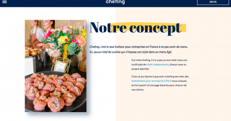 Startup <h3>Chefing</h3> France French Tech