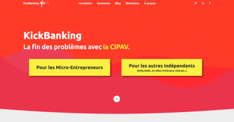Startup <h3>KickBanking</h3> France French Tech