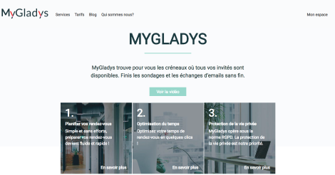 Startup <h3>MyGladys</h3> France French Tech