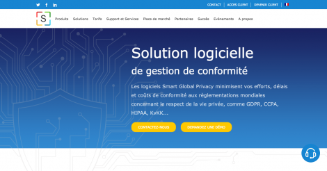 Startup <h3>Smart Global Privacy</h3> France French Tech