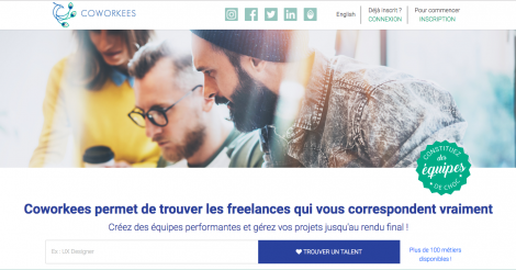 Startup <h3>Coworkees</h3> France French Tech