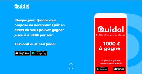 Startup <h3>Quidol </h3> France French Tech