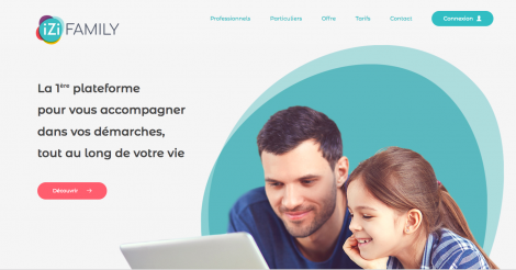 Startup <h3>Izi Family</h3> France French Tech