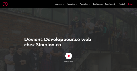 Startup <h3>Simplon.co </h3> France French Tech