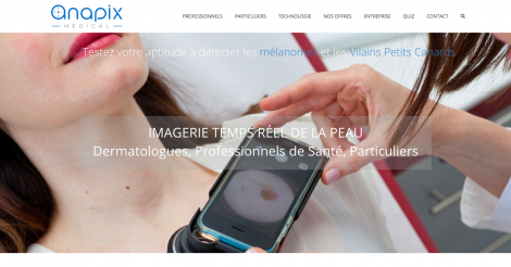 Startup <h3>ANAPIX medical</h3> France French Tech