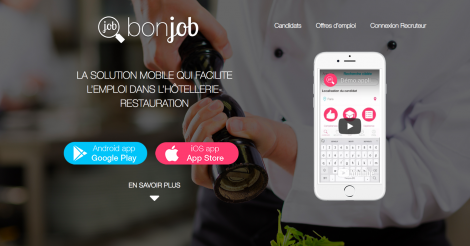 Startup <h3>BonJob </h3> France French Tech