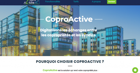 Startup <h3>CoproActive</h3> France French Tech