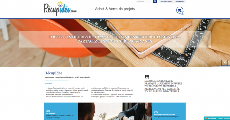 Startup <h3>Recupidee.com</h3> France French Tech