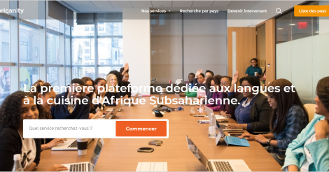 Startup <h3>Aphricanity</h3> France French Tech