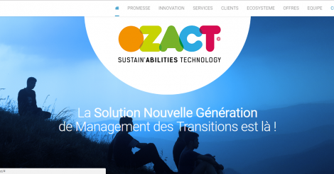 Startup <h3>Ozact </h3> France French Tech