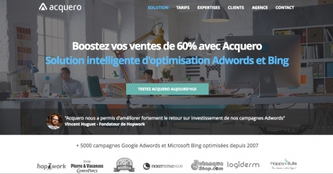 Startup <h3>Acquero</h3> France French Tech