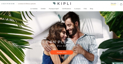 Startup <h3>Kipli</h3> France French Tech
