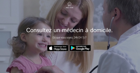 Startup <h3>MEDADOM</h3> France French Tech