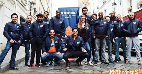 Startup <h3>MyTrooperS</h3> France French Tech