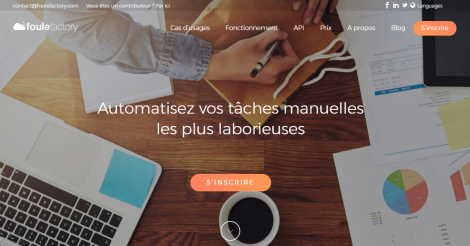 Startup <h3>Foule factory</h3> France French Tech