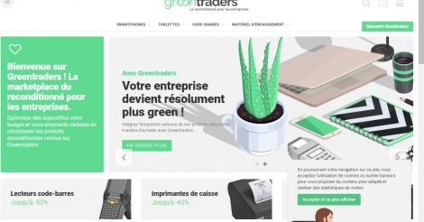 Startup <h3>Greentraders</h3> France French Tech