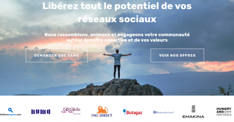 Startup <h3>AmazingContent</h3> France French Tech