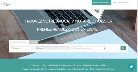 Startup <h3>Izilaw</h3> France French Tech