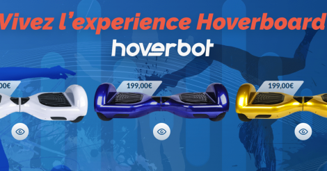 Startup <h3>Hoverbot</h3> France French Tech