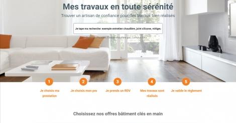 Startup <h3>MeilleurArtisan.com</h3> France French Tech