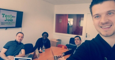 Startup <h3>Test Mon Job</h3> France French Tech
