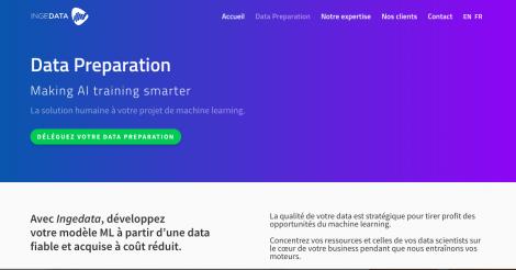 Startup <h3>Ingedata</h3> France French Tech
