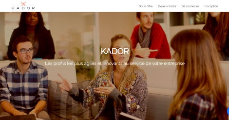 Startup <h3>Kador</h3> France French Tech