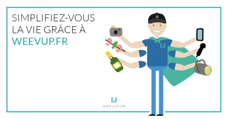 Startup <h3>Weevup</h3> France French Tech
