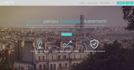 Startup <h3>Livsty</h3> France French Tech