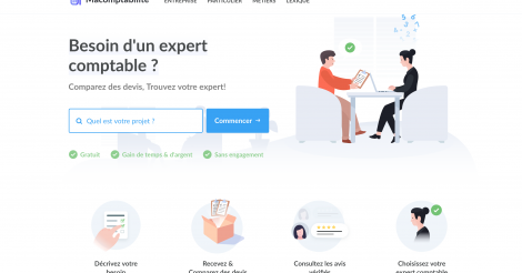 Startup <h3>Macomptabilite</h3> France French Tech