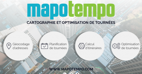Startup <h3>Mapotempo</h3> France French Tech