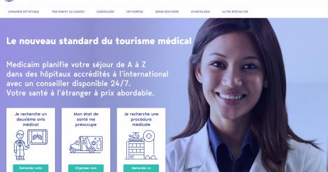 Startup <h3>Medicaim</h3> France French Tech