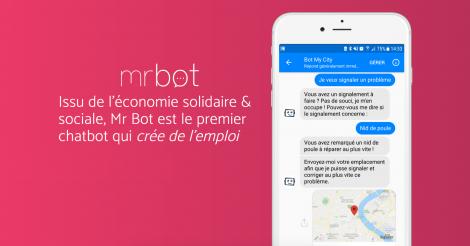 Startup <h3>Mr Bot</h3> France French Tech
