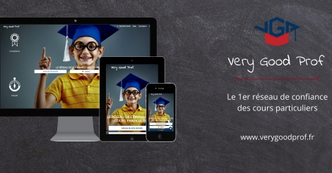 Startup <h3>Very Good Prof</h3> France French Tech