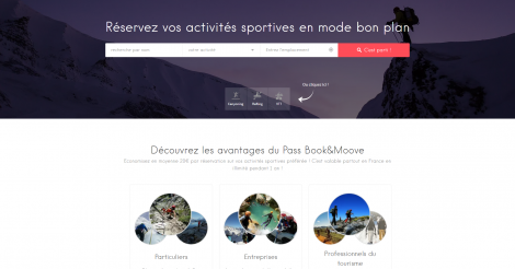 Startup <h3>Book&amp;Moove</h3> France French Tech