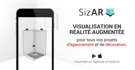 Startup <h3>SizAR</h3> France French Tech