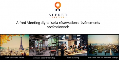 Startup <h3>Alfred Meeting</h3> France French Tech