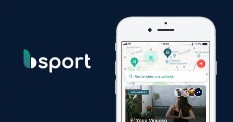 Startup <h3>bsport</h3> France French Tech