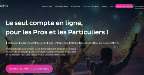 Startup <h3>Anytime</h3> France French Tech