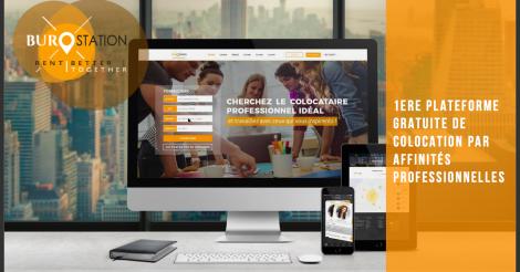 Startup <h3>Burostation</h3> France French Tech