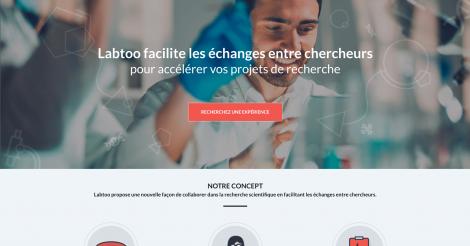 Startup <h3>LABTOO</h3> France French Tech