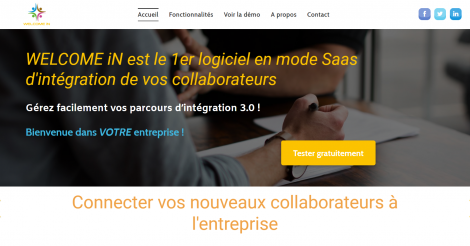 Startup <h3>WELCOME iN</h3> France French Tech