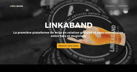 Startup <h3>LINKABAND</h3> France French Tech