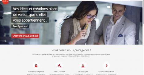 Startup <h3>MaPreuve</h3> France French Tech