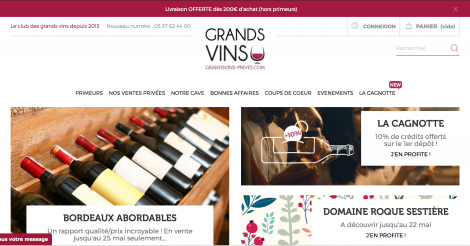 Startup <h3>GrandsVins-Prives.com</h3> France French Tech