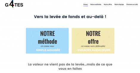 Startup <h3>G4TES</h3> France French Tech
